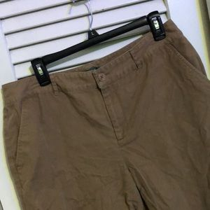 Ralph Lauren 100% Cotton Khaki Shorts Long